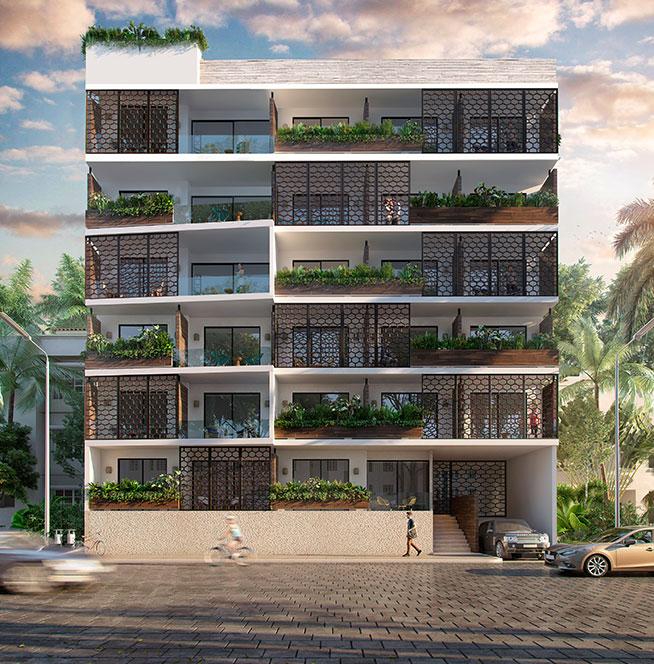 Master-plan-bahay-departamentos en venta en playa del carmen